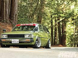 toyota corolla 83 1983 toyota corolla wagon e70 hella kenny magazine