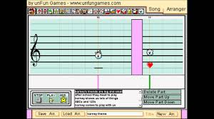 barney theme song mario paint compser youtube