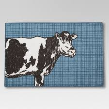 Threshold Kitchen Rug Cow Kitchen Rug Threshold Target