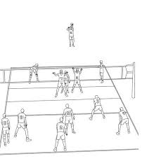 volleyball coloring pages volleyball court coloring pages u2013 kids