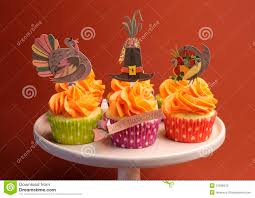 thanksgiving themed cake thanksgiving cupcakes stock photo image 45303627