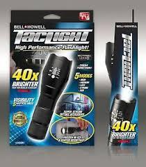 bell howell tac light lantern bell howell taclight super high powered tactical flashlight as