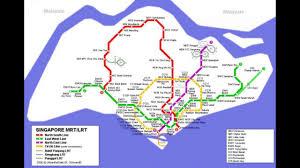Taipei Mrt Map Singapore Mrt System Map Smrt Station Youtube