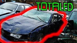 tanner fox serious car crash broken leg youtube