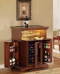 dining room unique corner locking liquor cabinet with glass door