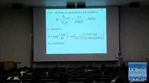 thermodynamics and chemical dynamics 131c lecture 18 equilibrium