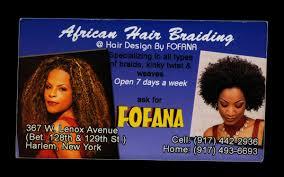 hair braiding places in harlem hair braiderbusiness cards nontsikelelo mutiti