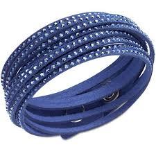 blue crystal bracelet swarovski images Swarovski crystal slake dark blue bracelet 5037393 ebay jpg
