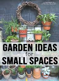 Garden Ideas For Small Spaces 20 Garden Ideas For Small Spaces Happiness Is
