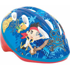 disney jake and the never land pirates toddler helmet blue