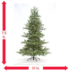 Indoor Trees For The Home by Home Accents Holiday 7 5 Ft Indoor Pre Lit Led Artificial Power