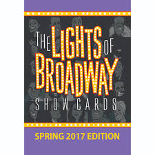 the lights of broadway show cards