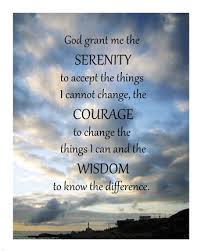 serenity prayer picture frame serenity prayer skies print by unknown at