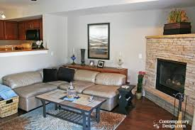 mesmerizing decorate small living room with fireplace ideas best