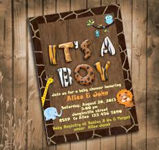 Safari Boy Baby Shower Ideas - baby shower ideas for safari theme free printable invitation design