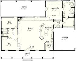 ranch house plans with open floor plan house plans open concept ranch sencedergisi com