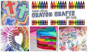 crayon arts and crafts for kids written reality