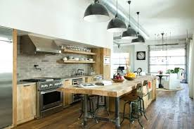 cuisine industrielle inox table cuisine industrielle cuisine industrielle en bois et metal