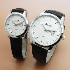 Foto Jam Tangan Merk Alba jam tangan pasangan alba harga murah