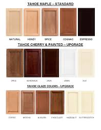 tahoe cabinet colors tahoe maple cabinet colors are the standard
