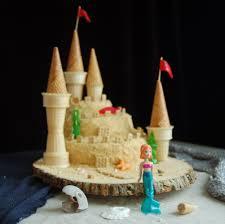 the little mermaid sandcastle cake i like the cake base not