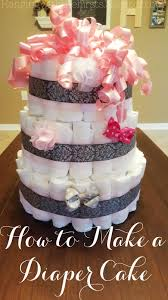 Hanging With The Hirsts How To Make A Diaper Cake