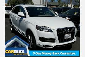audi 2015 q7 used 2015 audi q7 for sale pricing features edmunds