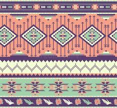 Colorful Aztec Rug Seamless Colorful Aztec Pattern Stock Image Image 27487121