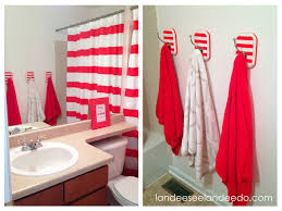 diy striped towel hooks landeelu com