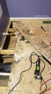 how to cut through subfloor condo blues how to remove a damaged or moldy subfloor