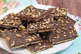 salty and sweet saltine toffee recipe