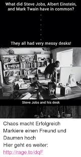 Albert Einsteins Desk 25 Best Memes About Messy Desk Messy Desk Memes