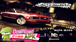 need for speed apk need for speed most wanted apk data para android free