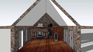 Barn Plans With Living Space 3d Plan For A Barn Studio And Living Space Youtube