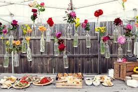 cheap wedding ideas cheap and creative garden wedding decoration ideas colorful