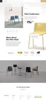 Chair Website Design Ideas Chi Responsive Creative Html Template Furniture Websites