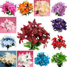 silk flowers wholesale 210 tiger lilies silk flowers wholesale wedding party crafts