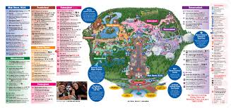 Epcot Orlando Map by Disney World Magic Kingdom Disneyworld Park Review And Tips
