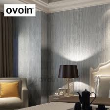 Wallpaper Designs For Dining Room Aliexpress Com Buy Silver Metallic Vinyl Grasscloth Wallpaper