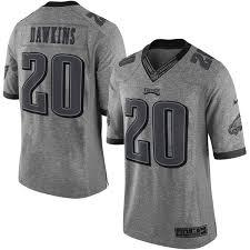 design gridiron jersey men s philadelphia eagles brian dawkins nike gray gridiron gray