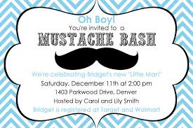 mustache baby shower invitations colors mustache baby shower invitations free templates as well