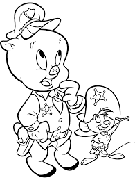 looney tunes coloring page looney tunes spot coloring pages