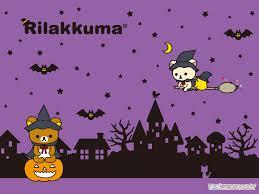 cartoon halloween backgrounds rilakkuma wallpapers archives rilakkuma world