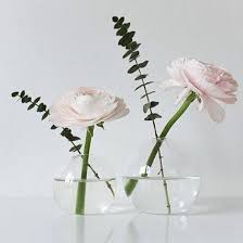 Single Stem Glass Vase Good Morning The Small Glass Ball Vase By Serax Is Great For A