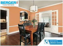 Peach Color Bedroom by Try Peach Country Of Elegance Emulsion In Your Dining Room