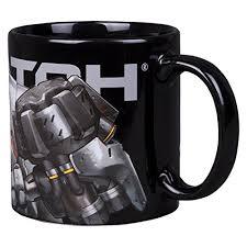 design coffee mug overwatch reinhardt ceramic coffee mug 20 oz wrap around design
