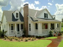 French Country Cottage Plans House Plans With Porches Home Design Ideas Plan Exterior Display