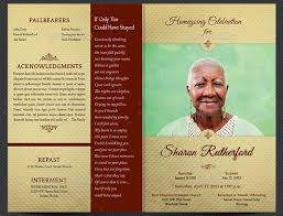 printable funeral programs 21 funeral flyers psd indd ai