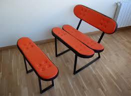 skateboard chairs cool skateboard chairs furniture from skate home