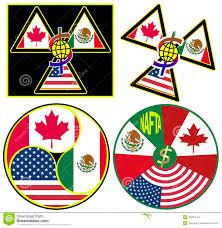 Mexico Flag Symbol Nafta Symbols Stock Illustration Illustration Of Trade 35201144